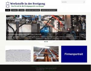 Mediadaten Homepage Firmenportrait