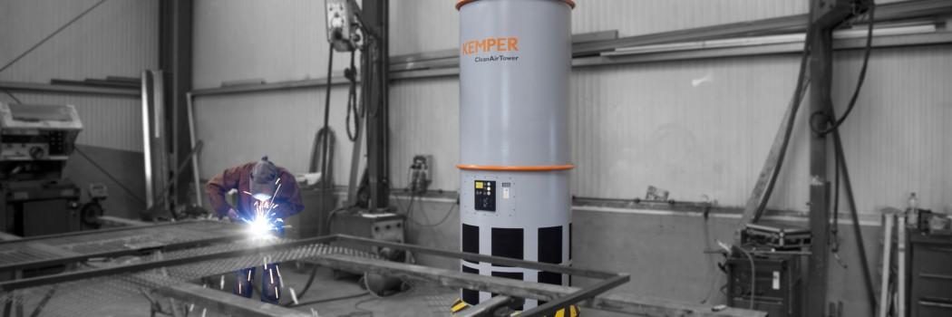 KEMPER baut mit neuer Raumlüftung Arbeitsschutz für Metallbetriebe aus