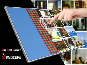 Kyocera On Cell Touch Display