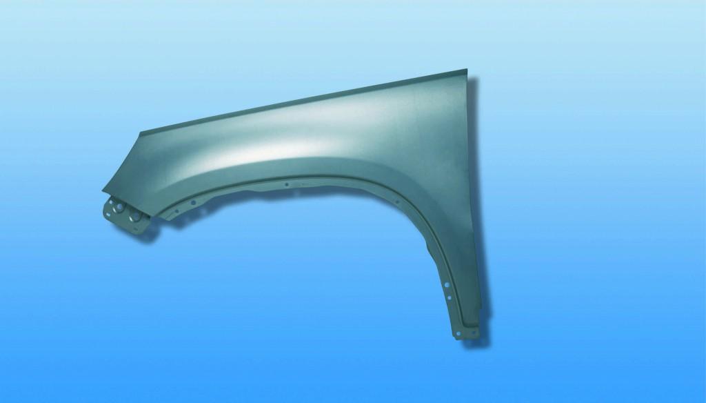 Kotflügel aus Stahl mit Zink-Magnesium-Schicht (StronSal). (Quelle: Salzgitter AG)