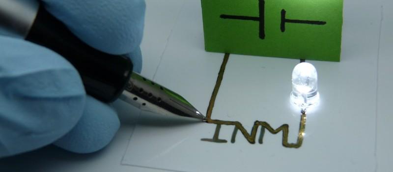 Hannover Messe: Neue Hybrid-Tinten ermöglichen gedruckte, flexible Elektronik ohne Sintern