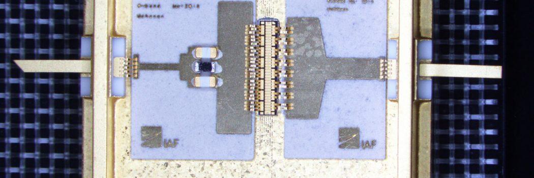 Leistungsverstärker aus Galliumnitrid für 5G