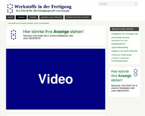 Mediadaten Video
