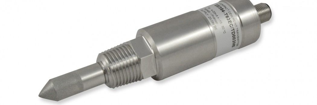 Miniatur Taupunktmessumformer für Kältetrockner