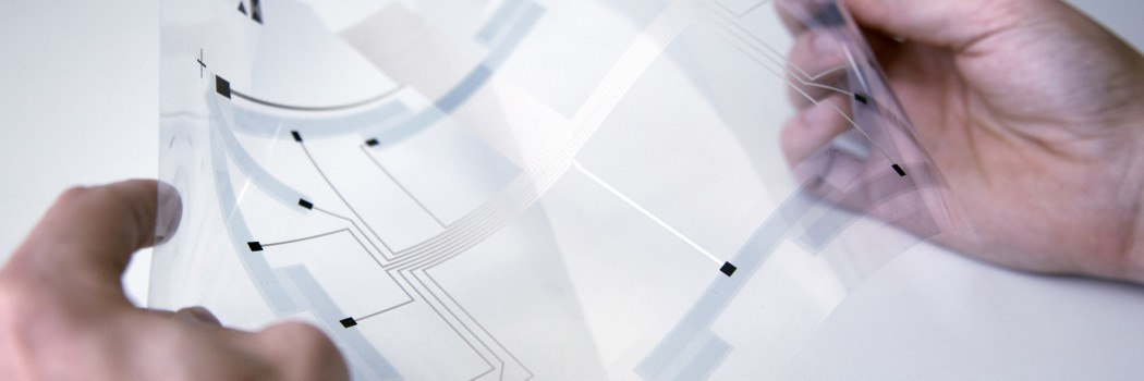 FLASHED! Touch-Screens für flexible Displays