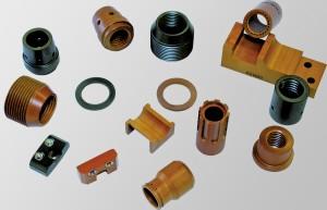 Typische Bauteile aus DOGLIDE 350 zeichnen sich durch hohe Stabilität und sehr geringe Dimensionsänderungen auch bei hohen Temperaturen bis 280 Grad aus.