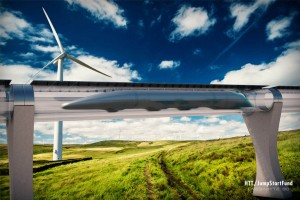 Transportation Tube With curtesy of: Copyright Pictures: Hyperloop Transportation Technologies