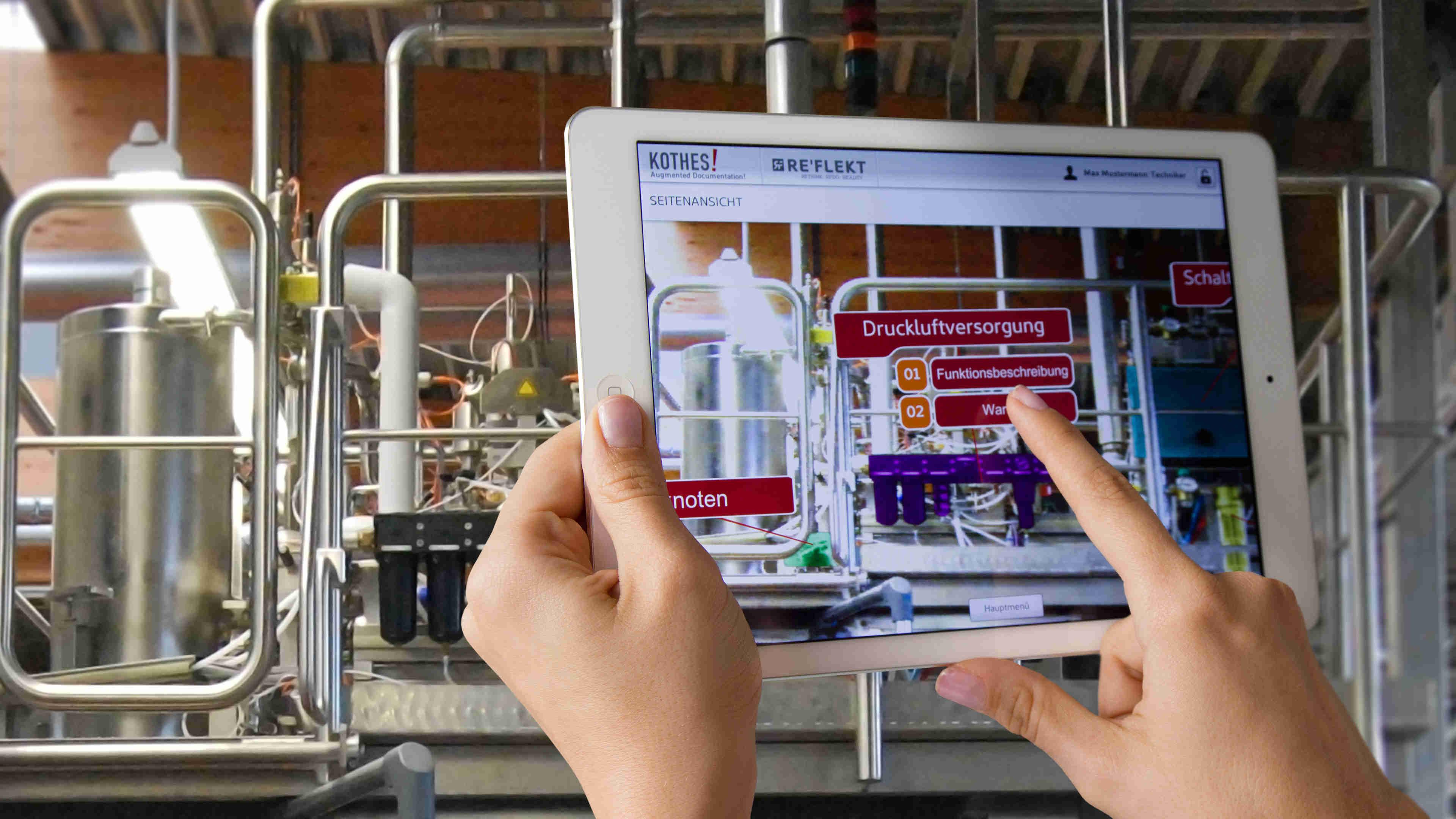 Kothes! Augmented Reality - Werkstoffzeitschrift