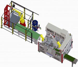 Die Montage von Gleitlagern für die Metallindustrie übernimmt die neue Anlage MMD 211536 von MartinMechanic vollautomatisch. Bild: MartinMechanic