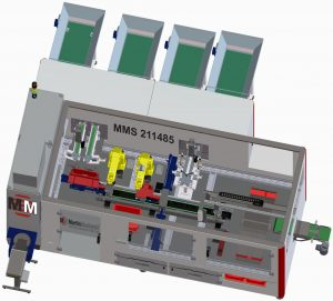 Eckschaniere für die Möbelindustrie montiert die neue Anlage MMS 211485 von MartinMechanic vollautomatisch. Bild: MartinMechanic