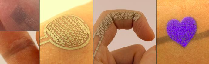 Elektronische Tattoos: Über markante Körperstellen mobile Endgeräte intuitiv steuern