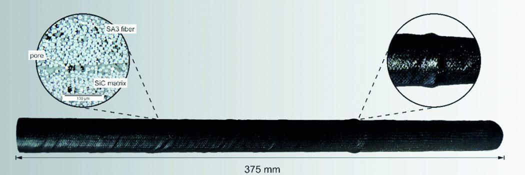 Neuartige Preformen aus hochsteifen technischen Fasern für Verbundkeramiken