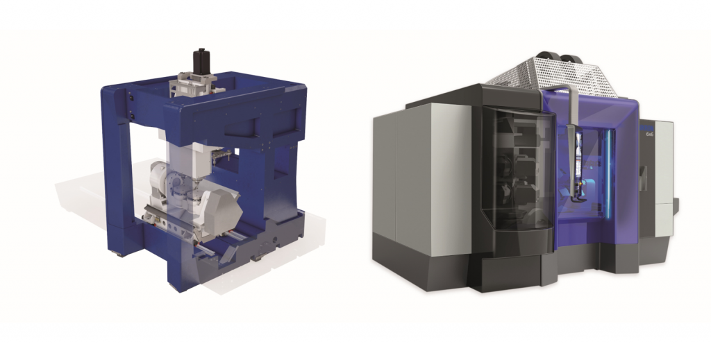Bild 5: Der MPF - Mikron Power Frame (geschlossene Rahmenbettkonstruktion) – ist die Grundlage für höchste Stabilität und Genauigkeit