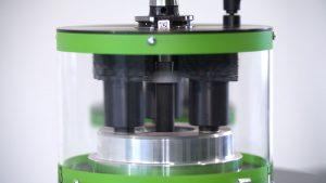 Für eine zuverlässige Abtragung der Verschmutzung kommen in RoWi2 ausschließlich Schleifborsten als Reinigungsborsten zum Einsatz.