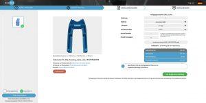 Online Bestellmaske für Frästeile mit Online-Kalkulation
