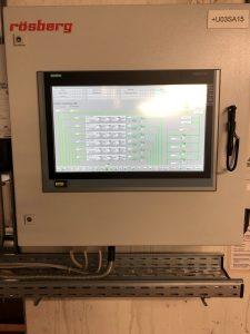 Bild 1: Bedien- und Beobachtungsmöglichkeit des Untergeschosses via Touch Panel