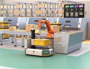 In immer mehr Branchen sind heute innovative Vision-Lösungen gefragt. Interessante Möglichkeiten finden sich in der Robotik z.B. bei Pick-and-Place-Anwendungen. (Urheber: ©chesky - stock.adobe.com)