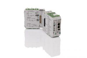 Bild 1: Kompaktes Modulsystem für die digitale Sensor-Einbindung ins Industrial-Ethernet-Konzept moderner Anlagensteuerungen (Urheber: burster)