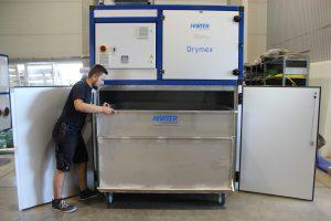 Abb. 5: Standard-Schlammtrockner für 1000 kg pro Tag