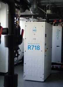 Abb. 3: Bei Siemens in Cham sind seit 2018 zwei eChiller zur Prozesskühlung im Einsatz und punkten in allen Bereichen: Energieeffizienz, Betriebssicherheit, Umweltschutz und CO2-Einsparung. Bildnachweis: Efficient Energy GmbH