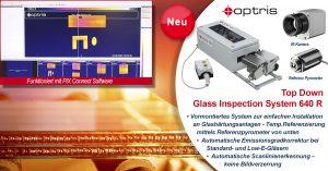 Neues Optris Komplettsystem für Glashärtungsanlagen