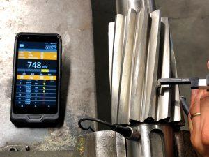 BU: Härteprüfung an schwer zugänglichen Stellen mit dem e-handy
