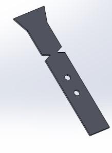 Abbildung 4: Standardprobengeometrie im Schlagzugversuch